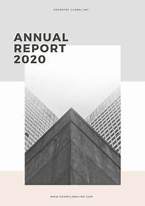 Easy Cover Letters Customize 136 Annual Report Templates Online Canva