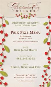 Beautiful Christmas Flyer Templates - MustHaveMenus