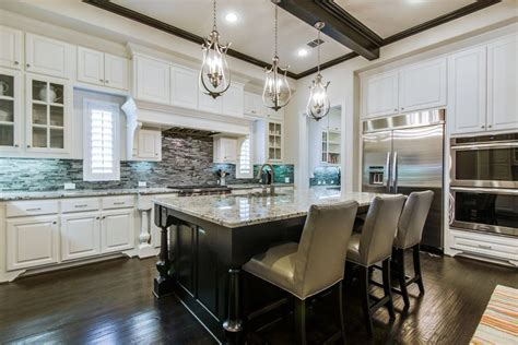 large kitchen islands  seating pictures