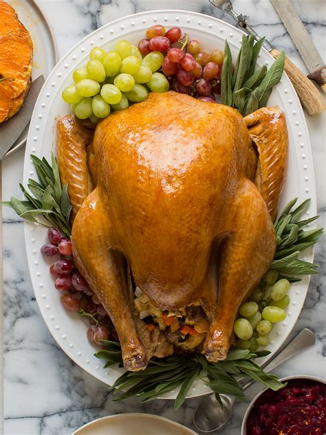 recipes for turkey citrus and herb roasted turkey thanksgiving spoon fork bacon