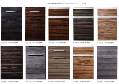 wood grain laminate kitchen cabinets wrap doors prefab high gloss vinyl wrap doors cheap 1939