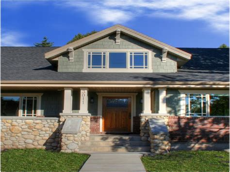 Craftsman Style Ranch Homes