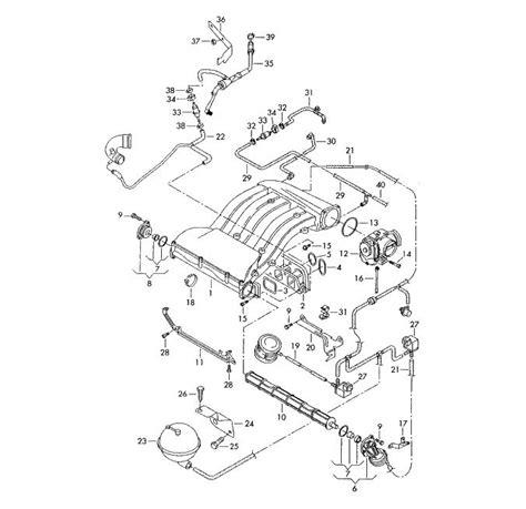 2001 Vw Jettum Tdi Vacuum Diagram by 1 8t Engine Hoses Wiring Diagram And Fuse Box