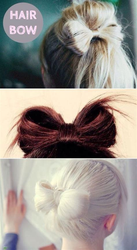 different hair bow styles musely