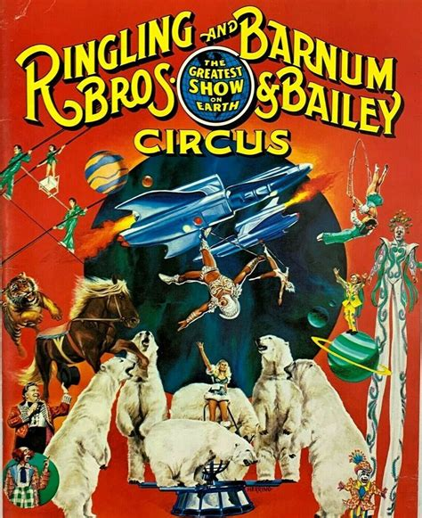 Ringling Brothers and Barnum Bailey Circus 1980 Program ...