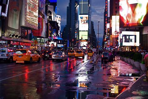 nyc nyc times square   rain