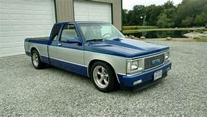 1990 Gmc S15 Extended Cab   S10 Square Body  Lowered