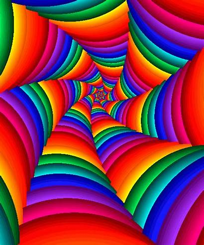 Gifs Colors Psychedelic Colorful Rainbow Illusions Optical