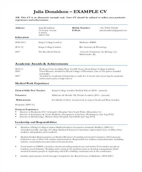 10 sle curriculum vitae templates pdf doc