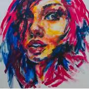 face art abstract art ...