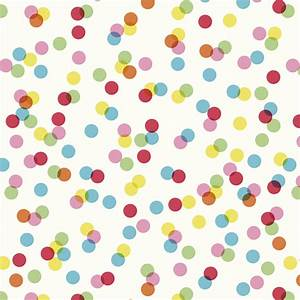 Confetti Wrapping Paper (5 Sheets) Rex London at