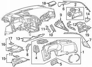 Chevrolet Corvette Instrument Panel Pad  W  Premium Trim