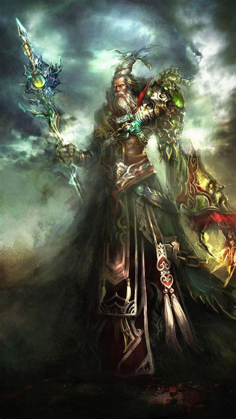 fantasy wallpapers wizard emperor fantasy mobile wallpaper