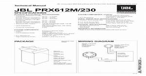 Technical Manual Jbl Prx612m  230      2 3 0 R E V F