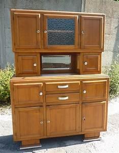 meuble de cuisine en bois annees 1950 broc39 en39 guche With meuble 1950