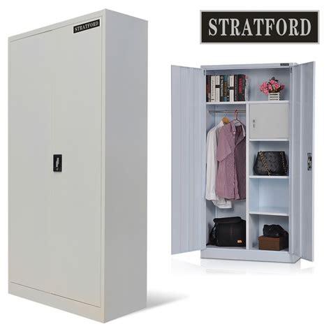 Tool Storage Cupboard by Stratford Steel Storage Cupboard Wardrobe Metal Shelving