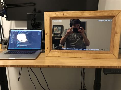 build  smart mirror codeburst