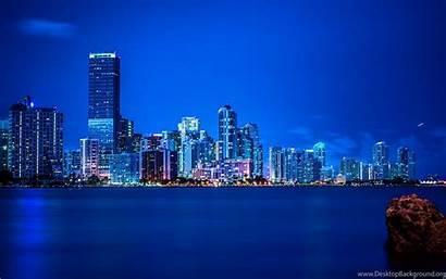 Panorama Vice Miami Lights Wallpapers Night Desktop