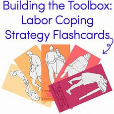Building The Toolbox Flashcards For Labor Strategies  Maternity  Birth Doula, Doula Business
