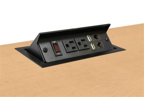 desk outlets power and data best power pop up stations on the counter tops buyer 39 s