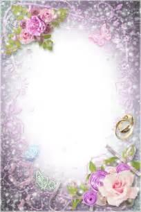 wedding picture frames transparent flowers wedding frame frames wedding flower and wedding frames