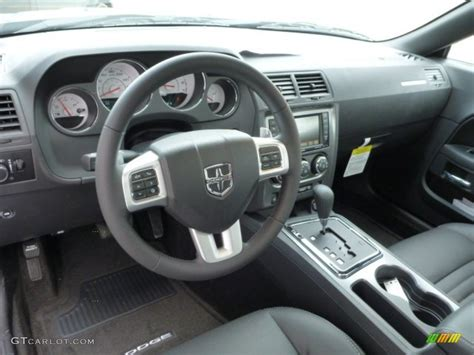 Dark Slate Gray Interior 2013 Dodge Challenger R/T Classic