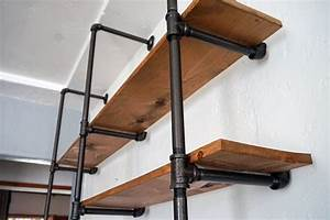 Lovely Imperfection - DIY Pipe Shelf Lovely Imperfection
