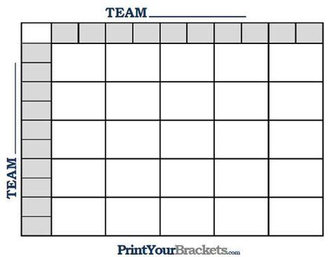 square grid nfl football pool templates pinterest