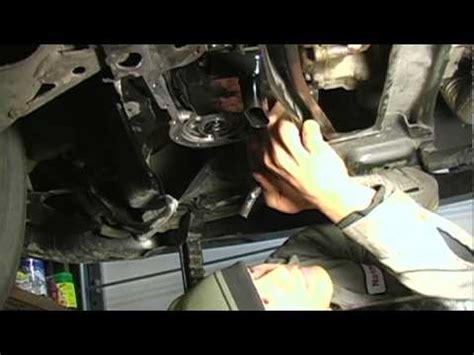 change transmission fluid   install