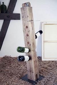 Holzmöbel Selber Bauen : 1391959168 808 meinsmanufaktur rustikale holzm bel weinregal selber bauen und weinregale ~ Orissabook.com Haus und Dekorationen