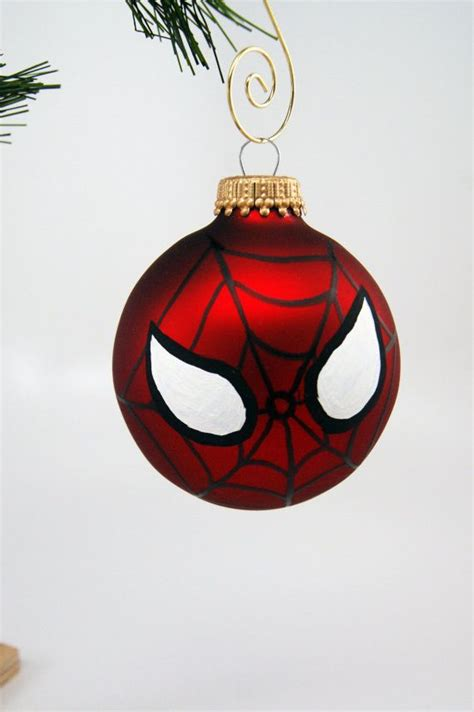 spiderman mask christmas ornament visit  grab