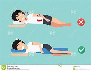 comfortable cartoons illustrations vector stock images With comfy sleeping positions