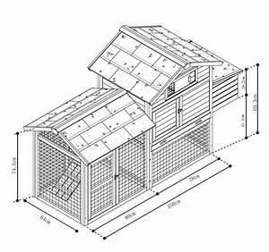 Plan Poulailler 5 Poules : poulailler columbus stone vadigran ~ Premium-room.com Idées de Décoration