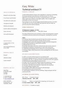 technical architect cv sample work experience key skills With cv template for architects