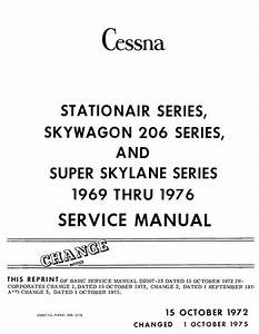 Cessna Maintenance  U0026 Parts Manuals