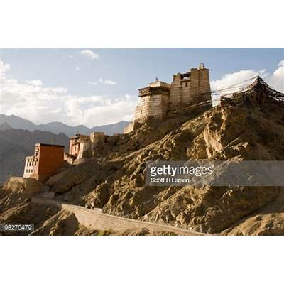 Namgyal Tsemo Gompa In Leh India Stock PhotoGetty Images