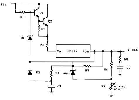 Precision High Voltage Regulator Power Supply Circuits