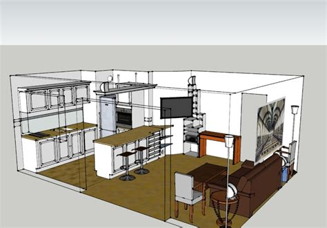 impressionnant amenagement salon salle a manger 30m2 10 une cuisine ouverte sous les toits