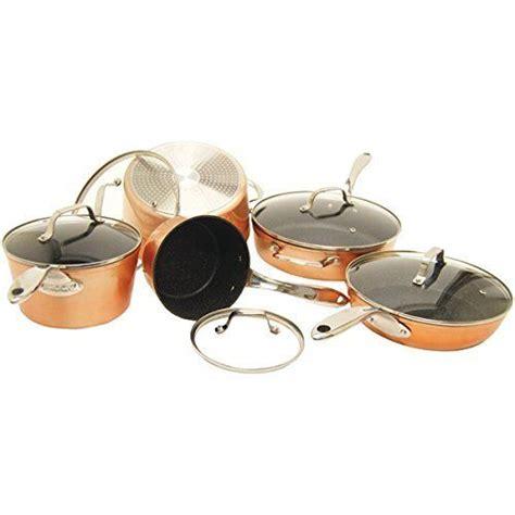 starfrit   piece copper cookware set bronze click   image  additional
