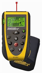 johnson level introduces a new laser distance measure With floor level measuring device