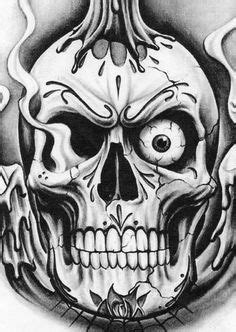 Demon Skull Coloring Pages | Skull coloring pages, Scary
