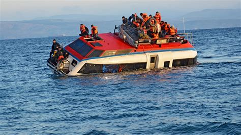 Refugee On Boat by Lethal Farce In Aegean Sea Continues As Another Refugee