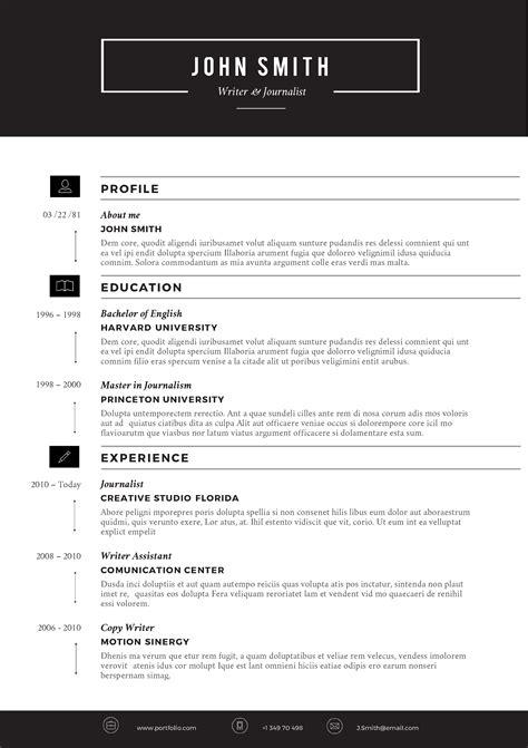 cvfolio   resume templates  microsoft word