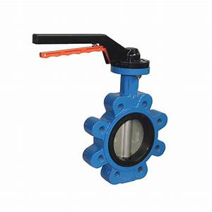 Dn100 4 Inch Manual Butterfly Valve Lug Type Ansi Standard