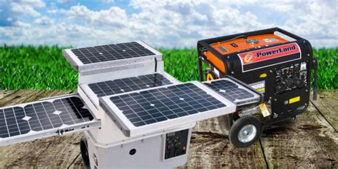 Solar Generators Vs Fuel Generators