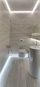 35 salles de bains modernes avec accessoires shopping With carrelage adhesif salle de bain avec eclairage led plafond bureau