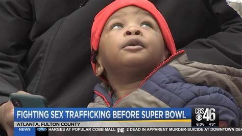 Fighting Sex Trafficking Before Super Bowl Youtube