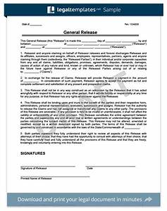 release of liability create a free liability waiver form With release from liability form template