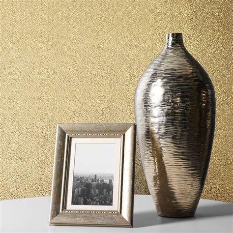 Muriva Amelia Texture Gold Metallic Wallpaper 701433