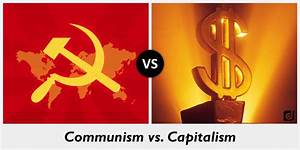 Difference between Communism and Capitalism